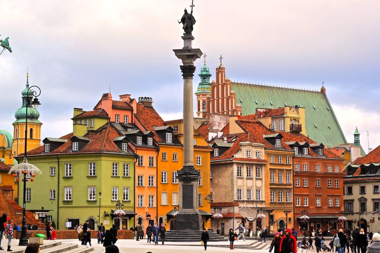 Туры в Варшаву из Калининграда
